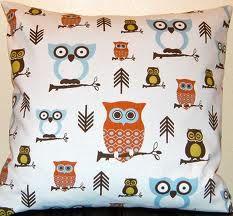 love the owl fabric