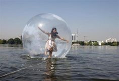 Walk Water Ball ~ Hamburg Germany