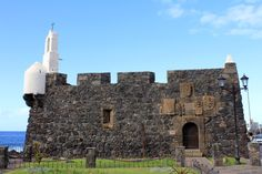 Canary Island - Tenerife, Garachico, Castillo of San Miguel