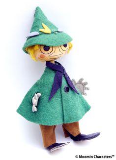 1950年代に当時のムーミンファンを熱狂させたムーミン人形