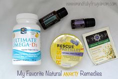 Natural Remedies for Anxiety do not need to be complicated - here are the 5 items I always keep on hand!