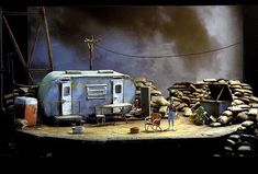 Last of the Boys Set Design by Todd Rosenthal