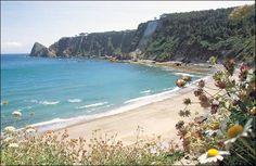 Playa de Oleiros, Cudillero, Asturias
