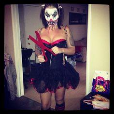 Fun and scary Halloween costume