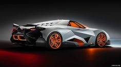 The celebration gala of Lamborghini´s anniversary ended in the best way with the presentation of a radical prototype created by the Director of Volkswagen Group Design, Walter de Silva. The single-seater Lamborghini Egoista has extreme and uniqu Lamborghini Aventador, Ferrari, Lamborghini Concept, Lamborghini Models, Lamborghini Interior, Lamborghini Pictures, Lamborghini Diablo, Lamborghini Quotes, My Dream Car