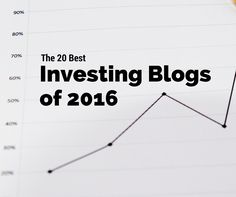 We put together a list of the best investing blogs of 2016, along with why they are amazing and what insights they bring to investors. via @collegeinvestor