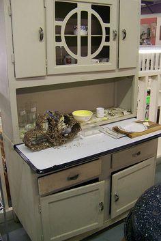 Love hoosier cabinets