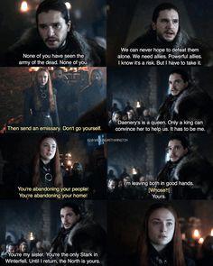 "393 curtidas, 11 comentários - Kit Harington ✘ Jon Snow (@wildling4kitharington) no Instagram: ""❥ ↬[Kit Harington as Jon Snow (and Sophie Turner as Sansa Stark) in Game of Thrones Sn7 Ep2…"""