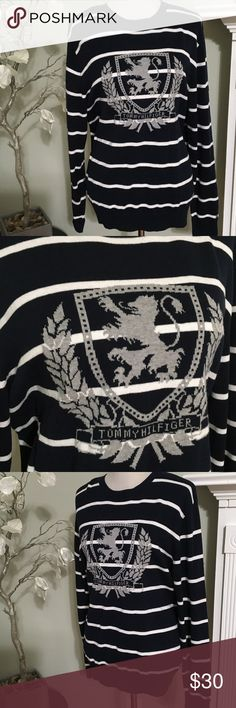TOMMY HILFIGER SWEATER Gorgeous brand new sweater , 100% cotton, Tommy Hilfiger Sweaters Crew & Scoop Necks