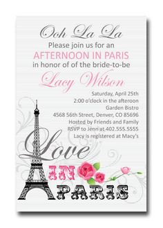 Afternoon in Paris Wedding Bridal or Baby by JenniferMeccaDesign, $12.00