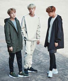 Min Yoongi, Kim Seokjin, Jung Hoseok | Bangtan Sonyeondan