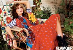 keira knightley bohemian style2 Keira Knightley Wears Bohemian Style for Glamour Cover Shoot