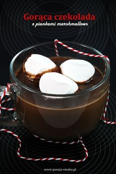 Marshmallows, Hot Chocolate, Panna Cotta, Pudding, Sweets, Dishes, Coffee, Ethnic Recipes, Food