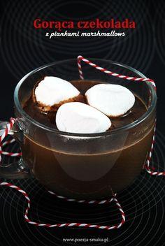 Gorąca czekolada z piankami Marshmallows / Hot Chocolate with Marshmallows (recipe in Polish)