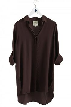 Mih Jeans Purple The Oversize Shirt