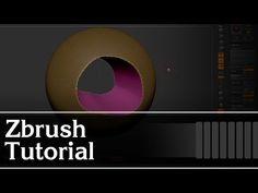 Zbrush - Curve Bridge Tool - YouTube