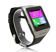 Esscoe best gift for lover or family ,Smartwatch Smart Watch Phone Quad Band 1.54 Inch Bluetooth BT Dialer Camera Smart Wrist Wrap Watch Phone Smart Bracelet Bluetooth Wrist Watch Phone for iOS Android iPhone Samsung Support Caller ID, Health Pedometer Bluetooth Sync Smart Watch Phone Bracelet For IOS Android Samsung iPhone ((Black-GV08) - http://yourpego.com/esscoe-best-gift-for-lover-or-family-smartwatch-smart-watch-phone-quad-band-1-54-inch-bluetooth-bt-dialer-camera-smart