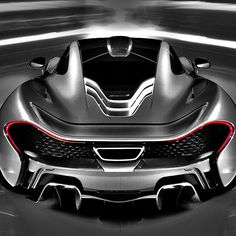 Beautiful! Black & White McLaren P1