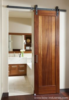 great sub for pocket door - similar to barn door brackets