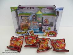 The Grossery Gang Yucky Mart Review