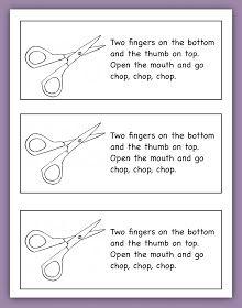 rubberboots and elf shoes: fine motor skills: scissor practice