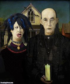 Gothic american gothic | dit icône? (American Gothic: The extraordinary odyssey of America ...