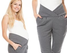 GoFuture® Maternity trousers Normal leisure use trousers KUSCHILA Maternity pants Trousers for pregnancy Soft warm stretchy Highest quality Maternity Scrubs, Cute Maternity Outfits, Stylish Maternity, Maternity Pants, Pregnancy Outfits, Maternity Wear, Maternity Dresses, Maternity Fashion, Pregnancy Style