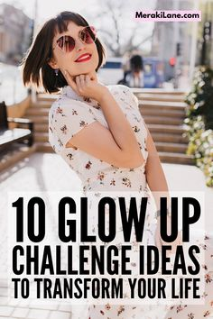 10 Ways to Transform Your Life | If you want to know how to transform your life, committing to a 30-day Glow Up Challenge is a great idea. There are lots of little healthy habits you can add to your daily routine to improve your physical, mental, and emotional health, as well as the way you FEEL about yourself, both inside and out. You've probably heard all about Glow Ups on TikTok, and this post has 10 ways to get started! Healthy Habits, Healthy Tips, The Glow Up, Day Glow, Getting Back In Shape, Face Massage, Best Moisturizer, Eat Fruit, Sagging Skin