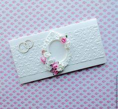 Купить Свадебный конверт для денег - белый, кремовый, Конверт для денег, конверты для денег, конверт, конверты