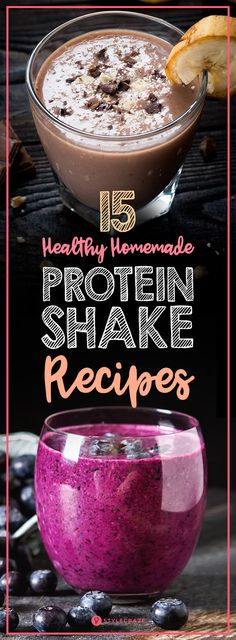 15 Healthy Homemade Protein Shake Recipes