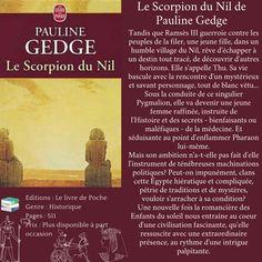 Le Scorpion du Nil de Pauline Gedge Ambition, Destin, Scorpion, Ecards, Memes, Livres, Scorpio, E Cards, Meme