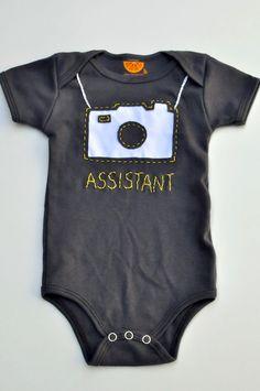 Una pieza de cámara handstitched bebé por amytangerine en Etsy