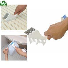 FANYI Double-ended Crevice Brush Bathroom Tile Brush Floor Brush Kitchen Decontamination Brush for free shipping
