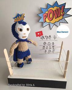 El Santo-Luchador-baby rattle