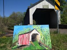 Visit Bucks County is offering up the chance to win one of five unique paintings of Bucks County sites. Registering to win is easy.