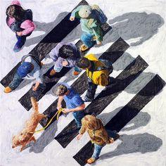 Pedestrians by Jim Zwadio