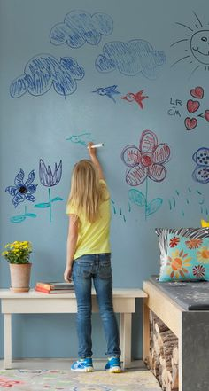 IdeaPaint - turns any surface into a dry erase board