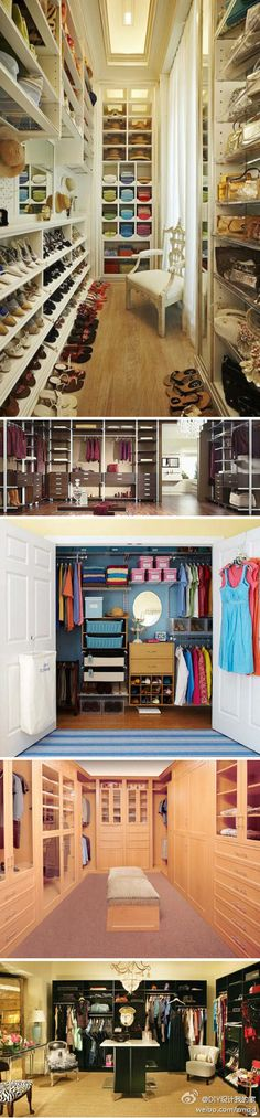 All you need is an entire room you don't need in your house - then you can turn it into a killer closet!