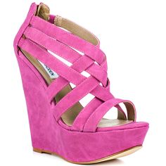 steve madden shoes pics | Heels.com / All Shoes / Steve Madden / Xcess - Fuchsia
