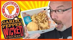 KBDProductionsTV - YouTube Popeyes Louisiana Kitchen, Wicked Chicken, Singapore Food, Food Reviews, A Food, Cereal, Garlic, Stuffed Peppers, Watch Video