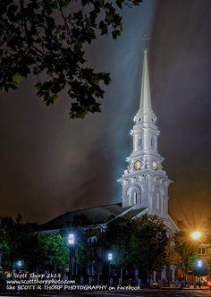 North Church, Market Square, Portsmouth, New Hampshire