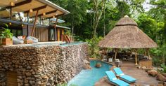 The Resort At Isla Palenque in Chiriqui, Panama - maybe one day we could have a pool like this???