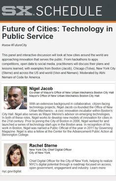 Boston Mayor's Office of New Urban Mechanics (Incubator within City Hall) explored at #SXSW)
