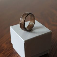 I wear a solid wood wedding ring, and man, it catches the eye. Classy and a conversation starter, for sure! Wood Rings, Gifts For Him, Conversation, Trending Outfits, Solid Wood, Wedding Bands, Unique Jewelry, Handmade Gifts, Rings For Men