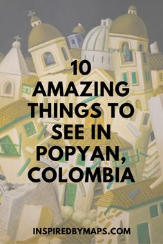Top Ten Things to Do in Popayan. A list of popayan things to do to help you plan the best trip to Colombia in South America. Check with hostels in popayan for up to date information and for conditions in Purace National Park. Perfect for adventure and great photography! Click through to read more and a guide to visiting  ☆☆Brought to You via #Inspiredbymaps ☆☆