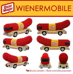 LEGO - Bruce Lowell - LEGO Oscar Mayer Wienermobile