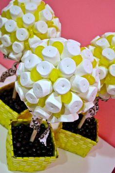 Árbol topiario malvavisco & Lollipop Candy por HollywoodCandyGirls