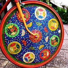 #wheel of the most beautiful #bike La più bella bicicletta ruota