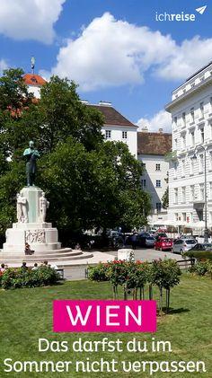 Summer in the City: Was du diesen Sommer in Wien nicht verpassen darfst Video Rezept Heart Of Europe, Summer 3, Vienna, Austria, Camping, Tours, Adventure, Mansions, House Styles