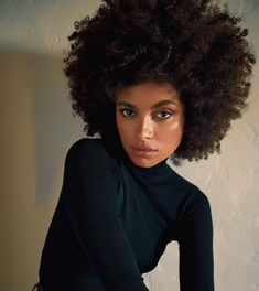 Curly Hair Routine, Curly Hair Tips, Natural Hair Tips, Natural Hair Growth, Long Curly Hair, Curly Hair Styles, Natural Hair Styles, Short Afro Hairstyles, Cool Hairstyles